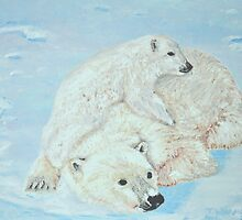 Mummy it's too cold by Tricia Winwood