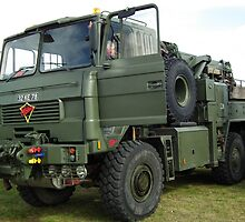 Foden Recovery Truck by mike  jordan.