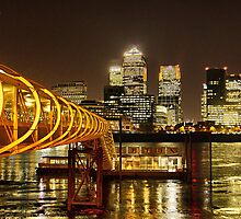 Piers of Docklands Hilton by LudaNayvelt