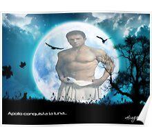 Apollo Moon Poster