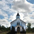 Copper Harbor Church by Polly Greathouse