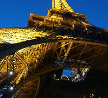 The Eiffel Tower by Heather Watson
