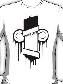 MONKEY: Peek Into My Mind (Plain) T-Shirt
