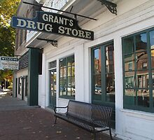 Grant's Drug Store Old Town Hannibal, MO  by Sherry Hunt