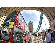 The Red London Bus Photographic Print