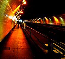 Stockton Street Tunnel by Valerie Rosen