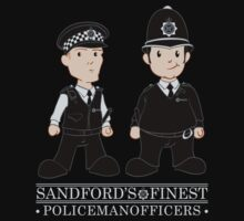 Sandford's Finest - Hot Fuzz by rexraygun