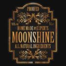 Moonshine label by Robin Lund