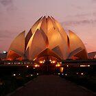 Lotus Temple - New Delhi by Dhiraj Anand Khatri