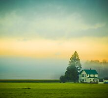 Typical farmhouse in the Stilly Valley by JonAnderson