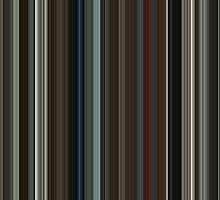 Moviebarcode: The Beach (2000) [Simplified Colors] by moviebarcode