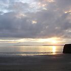 Sunset in Ballybunion, Kerry, Ireland by jos2507