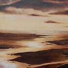 'Golden Glow'  Mawddach Estuary by Dawn Jones Art