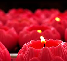 Temple Candles by Jonathan Fox
