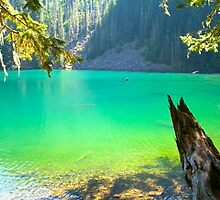 Goat Lake by YogiColleen