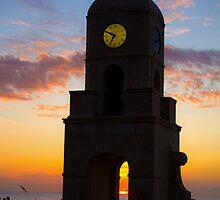 Coastal Clock Tower by Michael Damanski