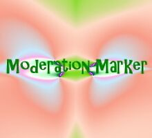 Moderation Marker by quiltmaker