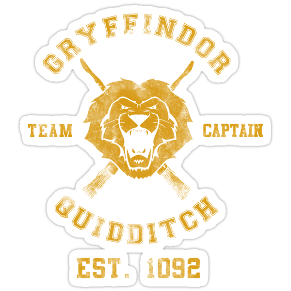 Gryffindor Team Captain- Harry Potter Quidditch by spacemonkeydr