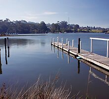 Mallacoota Jetty by Roger Neal