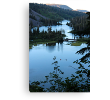 Twin Lakes Mammoth California from Twin Falls Canvas Print