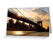 NYC, New York City, USA Greeting Card