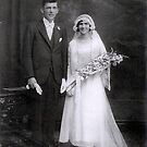 Wedding of My Grandparents by Julie Sleeman
