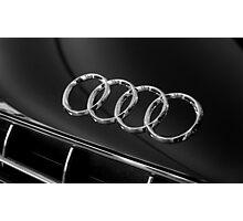 Audi Emblem Photographic Print