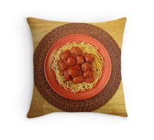 Mangia Bene! Throw Pillow