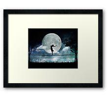 Giddy by Moonlight Framed Print