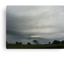 Nebraska Sky Canvas Print