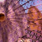 Purple Parasol by Bob Wall