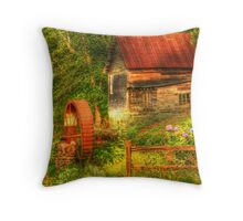 Summer Mill Throw Pillow
