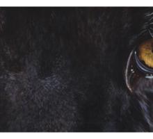 Black Panther Eyes Sticker