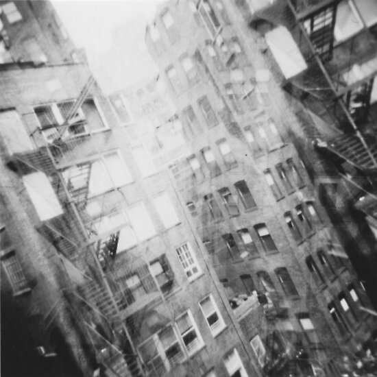 New York Double Exposure by Mattias Olsson