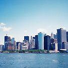 Manhattan Skyline by Mattias Olsson