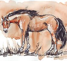 Tribute to the Horse by Maree  Clarkson