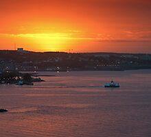Sunrise over Halifax Harbour by Darren Boucher