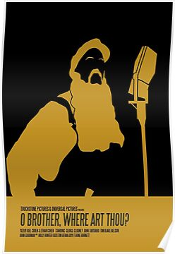 o brother where art thou poster  poster,375x360,ffffff.jpg