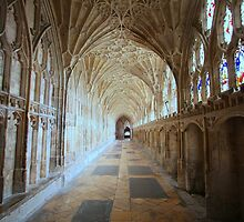 Detailed - Gloucester Cathedral by Graham Jones