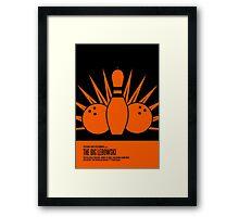 The Big Lebowski Poster Framed Print