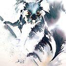Furry friend- by Bev  Wells