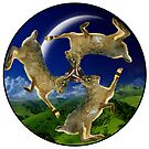 Magic Hares by Mike Paget