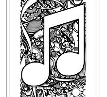 QUAVER MUSICAL NOTE by Paul  Dunne