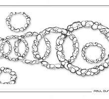URBAN CIRCLES 1 by Paul  Dunne