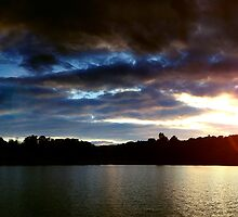 Lakes Sunset by digitalnative