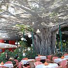 restaurant-under the tree by elena7