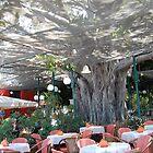 restaurant-under the tree by elena7