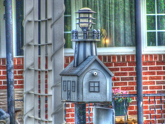 The Lighthouse mailbox by vigor