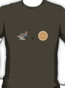Partridge and Orange T-Shirt