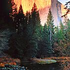 EL CAPITAN,SUNSET* by Chuck Wickham